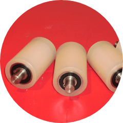 Rubber Coated Rollers